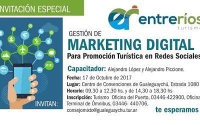 Curso de Capacitación en Marketing, Promoción Turística & Social Media