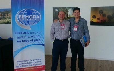 Giachello y Stehle presentes en la Reunión de Consejo Directivo y Asamblea General Ordinaria de FEHGRA