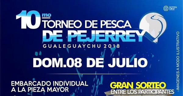 10mo Torneo de Pesca de Pejerrey – Gualeguaychú 2018