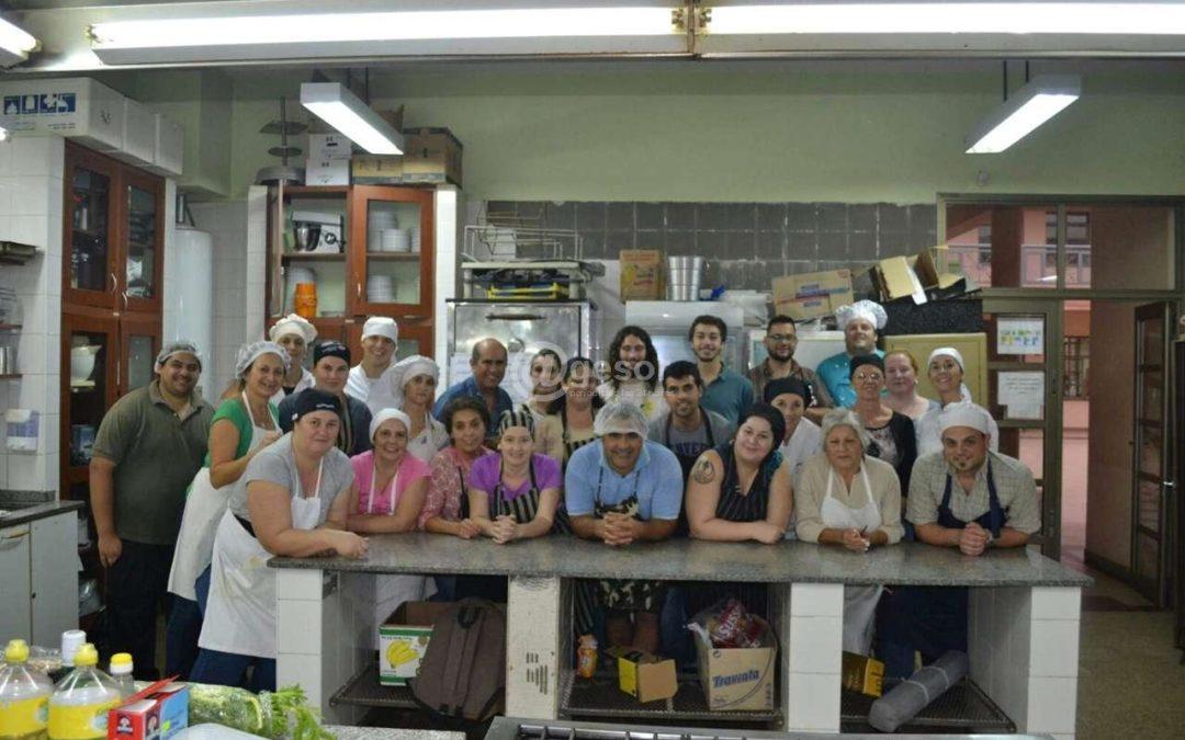 Publicación sobre el Curso de Cocina en Prensa de Soriano, Uruguay