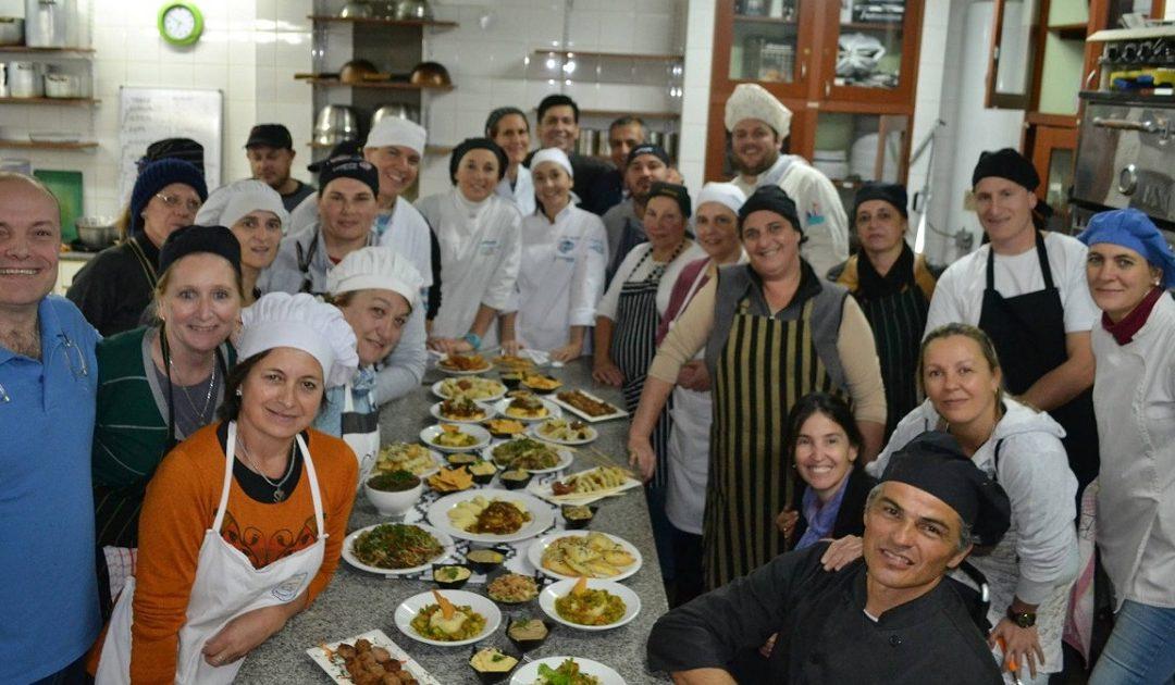 Se llevó a cabo un Curso de Cocina Profesional nivel avanzado