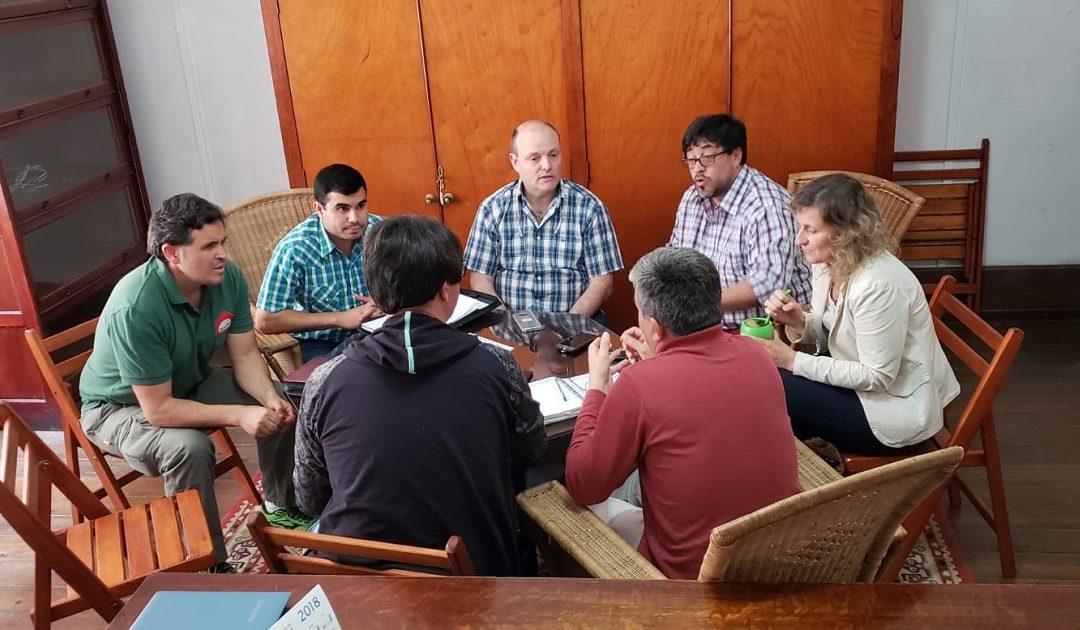 Reunión ejecutiva de la «Mesa de Integración Binacional»