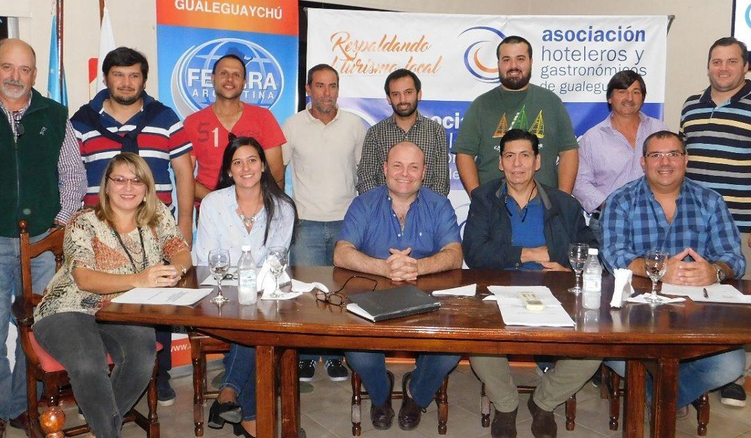 Marcelo Giachello fue reelecto presidente de la Asociación Hotelera y Gastronómica de Gualeguaychú