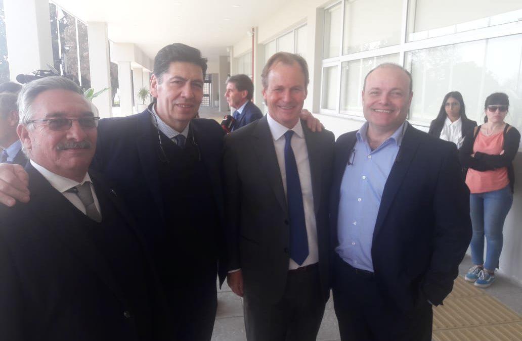 La Asociación de Hoteleros y Gastronómicos de Gualeguaychú presente en la inauguración de la nueva sede del Consulado de Uruguay en Paraná