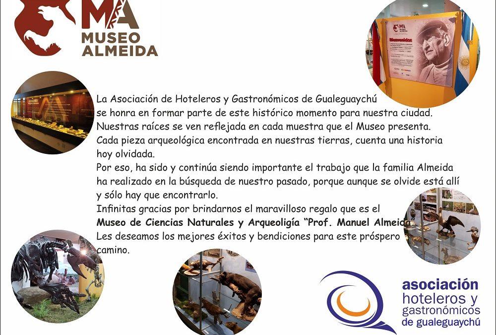 """Museo de Ciencias Naturales y Arqueología """"Prof. Manuel Almeida"""""""