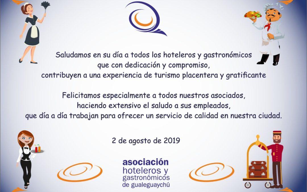 2 de agosto: Día de Hoteleros y Gastronómicos