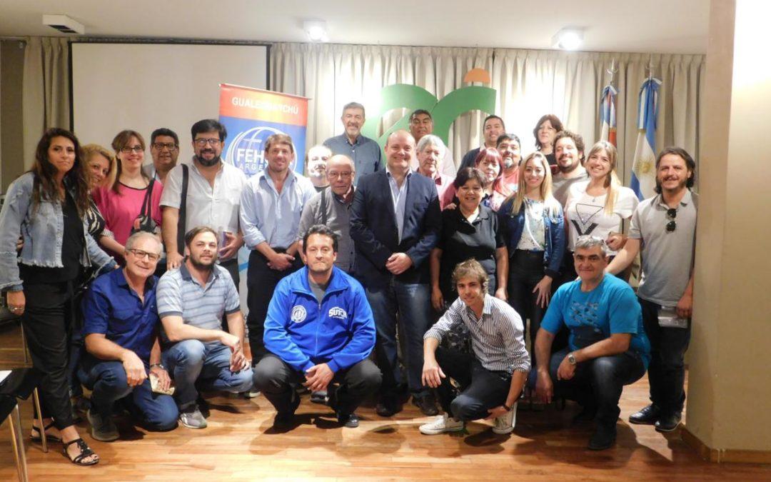 Reunión con más de 20 sindicatos en la Casa de Entre Ríos