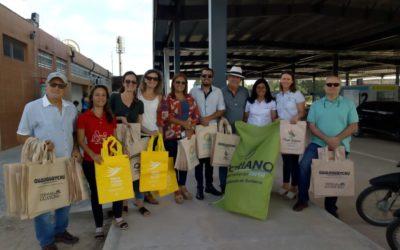 """Primera promoción turística realizada junto a ciudades del Uruguay en el Puente Internacional """"Gral. San Martín"""", a través de la Mesa de Integración Binacional."""