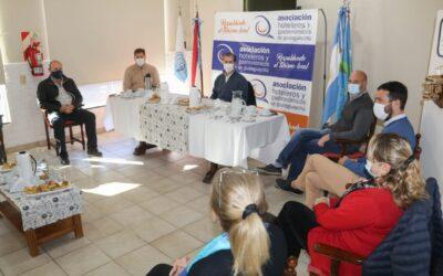 La Asociación de Hoteleros y Gastronómicos recibió al presidente municipal, Dr. Martín Piaggio