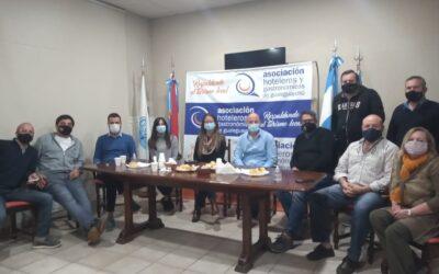 Reunión con la nueva presidente del Consejo Mixto, Pía Gavagnín